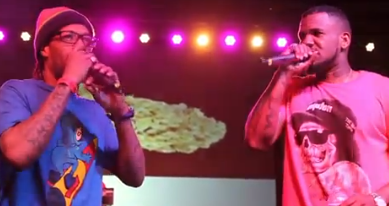 Redman & The Game At The High Times Medical Cannabis Cup