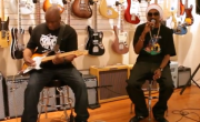 Snoop Lion Drops Freestyle At Fender Artist Showroom