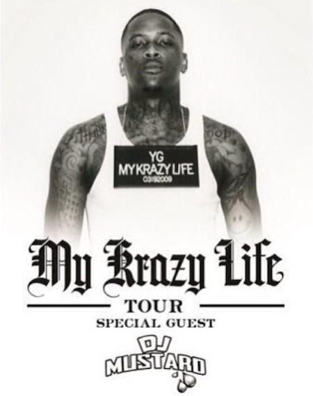 Yg My Krazy Life Deluxe YG Announces 'My Krazy...
