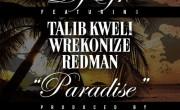 DJ EFN FT. Talib Kweli, Redman & Wrekonize – Paradise